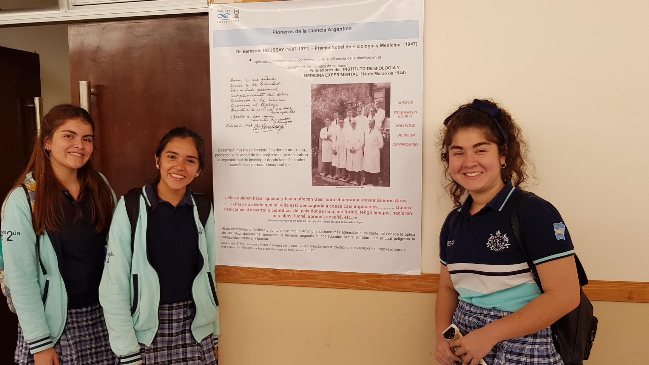 Pioneros de la Ciencia Argentina.